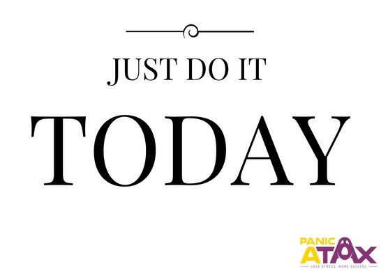 Just Do It Today - Slide